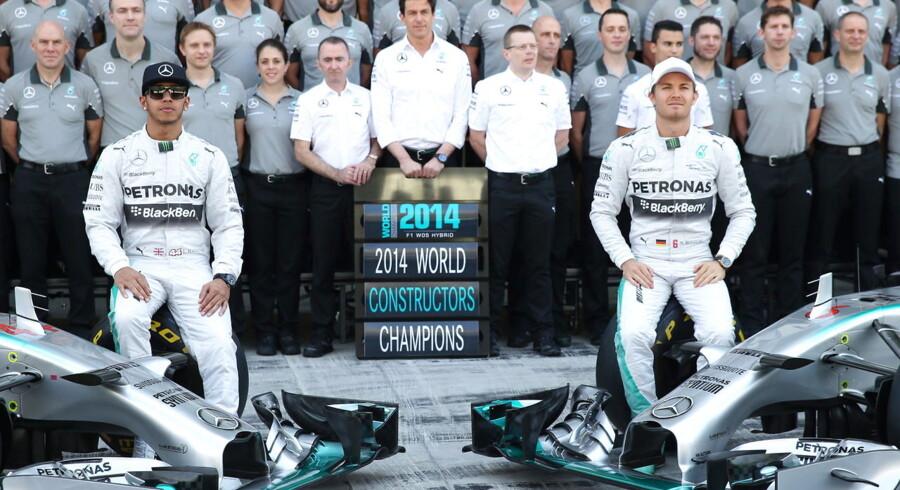 Lewis Hamilton er ny verdensmester