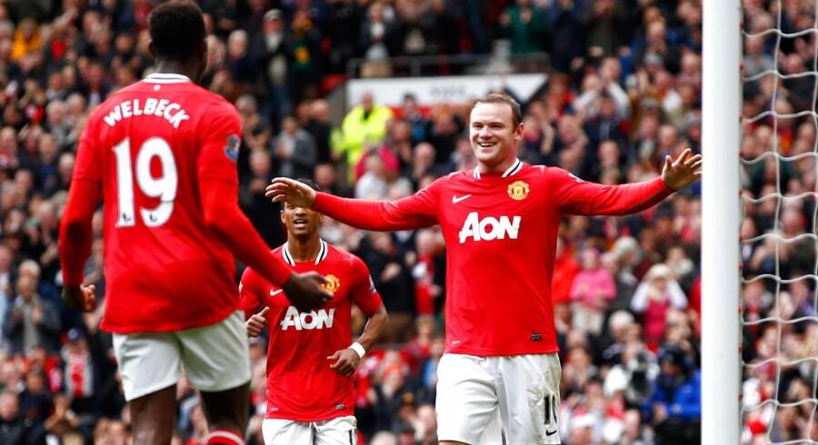 Manchester United er verdens mest populære fodboldklub med 600 mio. fans verden over.
