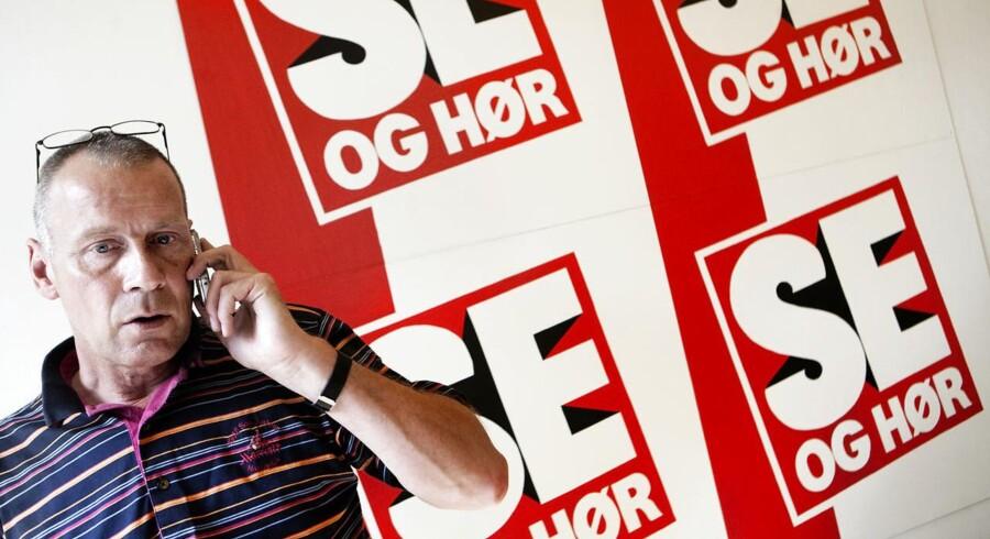 Arkivfoto. Tidligere chefredaktør på Se og Hør Kim Henningsen har endnu ikke hørt fra politiet.