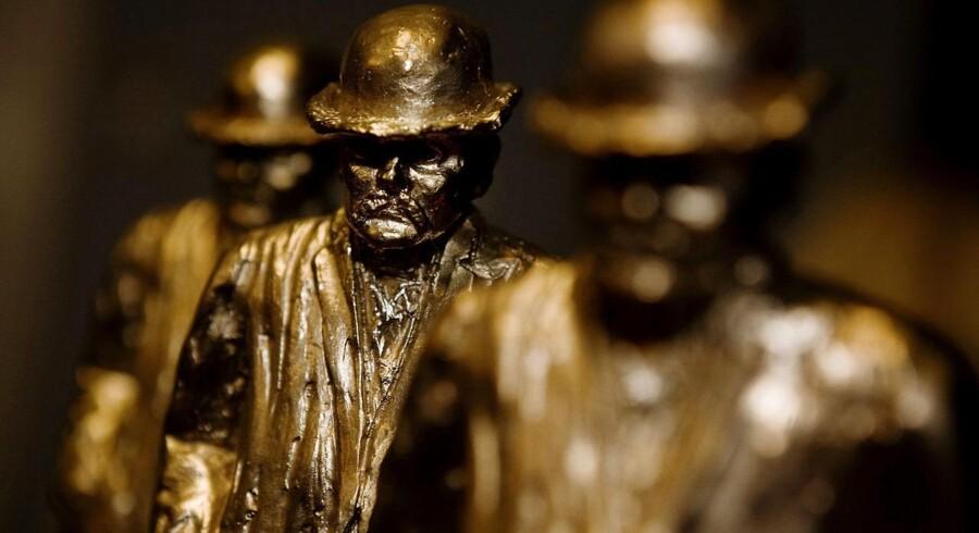 ARKIVFOTO: Cavling-statuetter