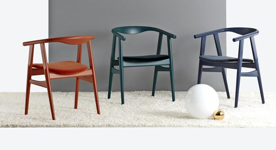 Hans J. Wegner brugte hele paletten, når han designede møbler. Foto: PR