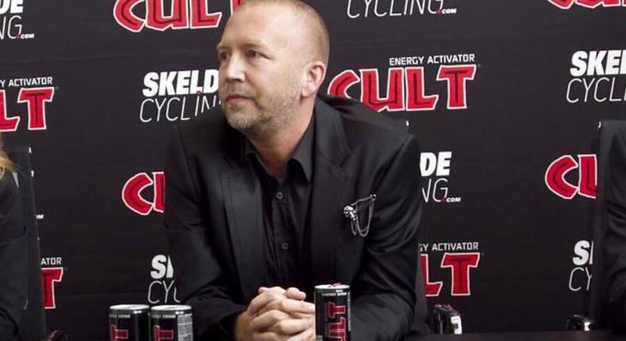 Stifter og bestyrelsesformand i Cult, Brian Sørensen, er ikke tilfreds med det beskedne overskud på 1,5 mio. kr.