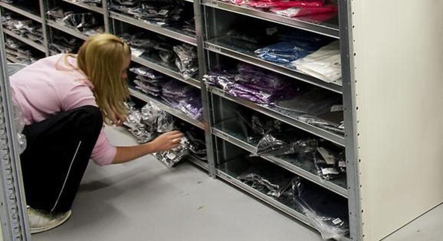 Tøjet blev hevet ud af Smartguys lagerhylder i et større omfang i første halvdel af regnskabsåret 2013/2014 end samme periode sidste år.