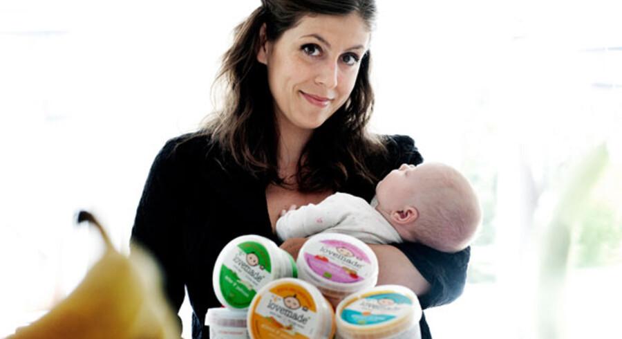 »Der fødes dobbelt så mange børn i Sverige, og markedet er ti gange så stort som herhjemme,« siger Silvia Wulff, der etablerede Lovemade i 2010 og ejer firmaet i fællesskab med kokkene Nikolaj Kirk og Mikkel Maarbjerg.