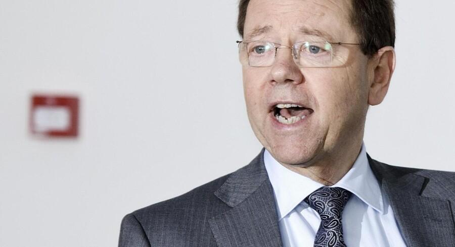 Dagligvaregigantens administrerende direktør Erling Jensen.