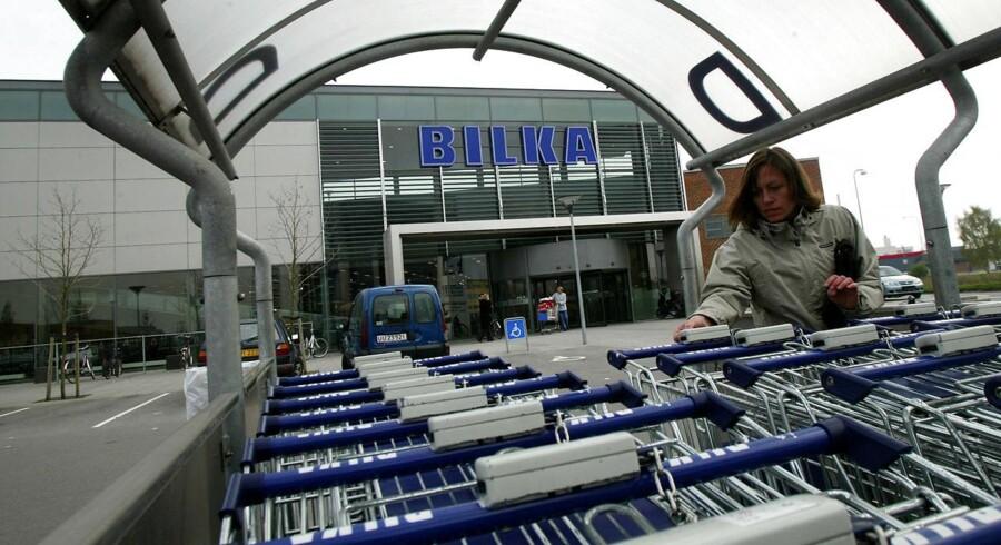 Arkivfoto fra Bilka i Horsens.