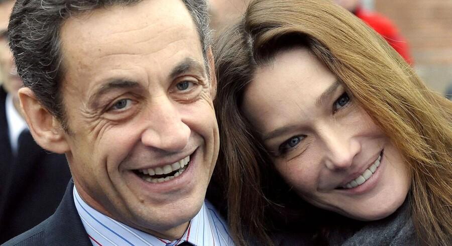 Den franske præsident Nicolas Sarkozy og hans hustru Carla Bruni Sarkozy har onsdag fået en datter.