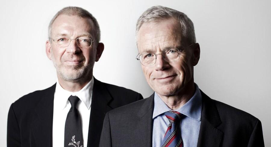 Anders Eldrup og Peter Schütze er formænd for nyt OPP-initiativ omkring havnetunnelen