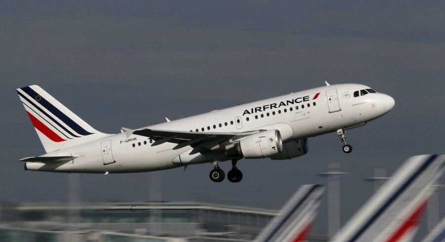 Mandag middag falder Air France-KLM-aktien 7 pct.