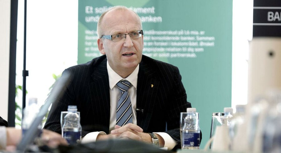 Janus Petersen, administrerende direktør i BankNordik