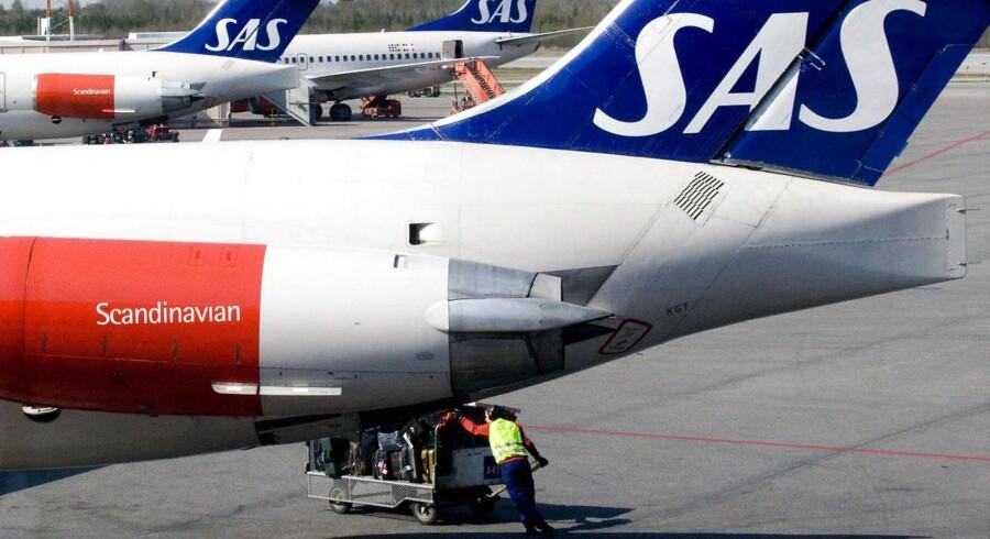 Salget af SAS Ground Handling til et fælles selskab med Swissport er sat på standby.