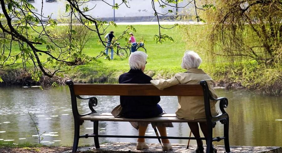 Egen opsparing fylder stadig mere af pensionisternes økonomi.