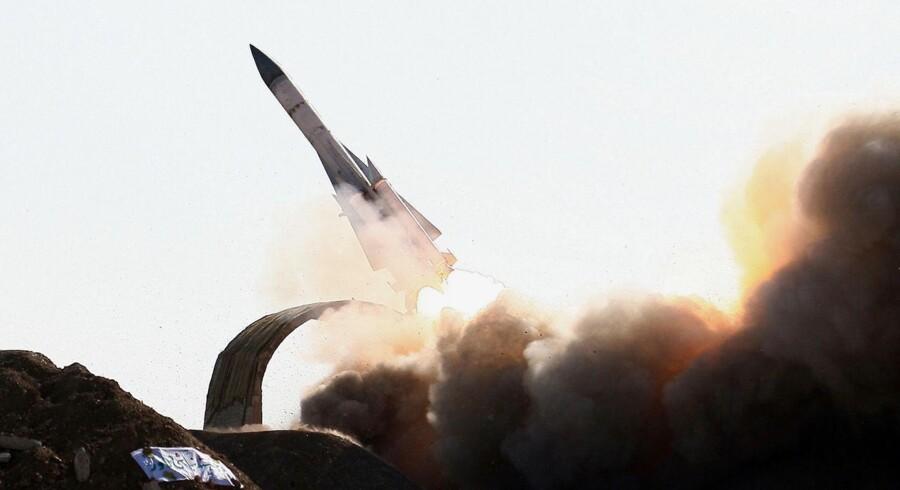 S300-missilet er en opgraderet udgave af et gammelt sovjet-missil.