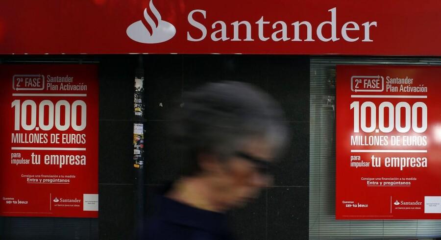 Santander er den største bank i eurozonen og har over 103 mio. kunder i 40 lande.