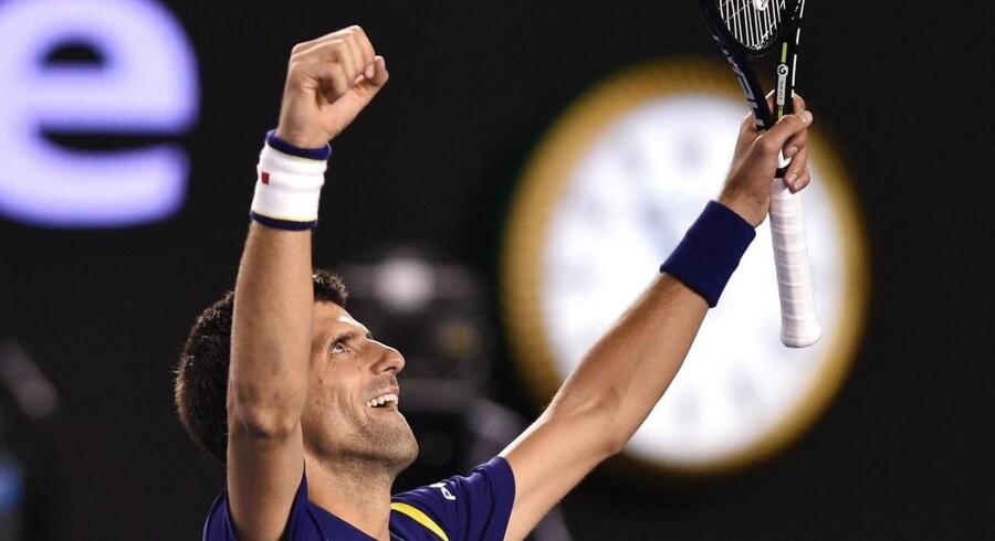 Novak Djokovic er kongen af Australian Open.