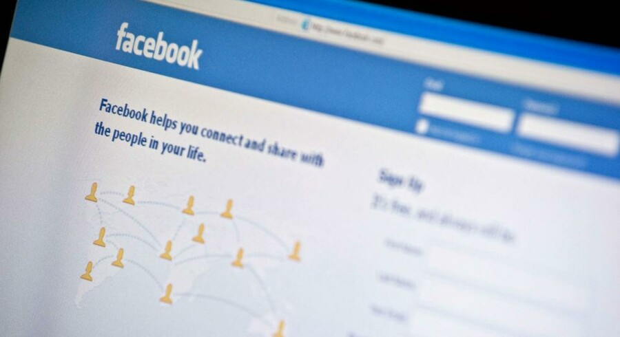 Facebooks planlagte børsnotering er nu udsat i et halvt års tid. Foto: Nicholas Kamm, AFP/Scanpix