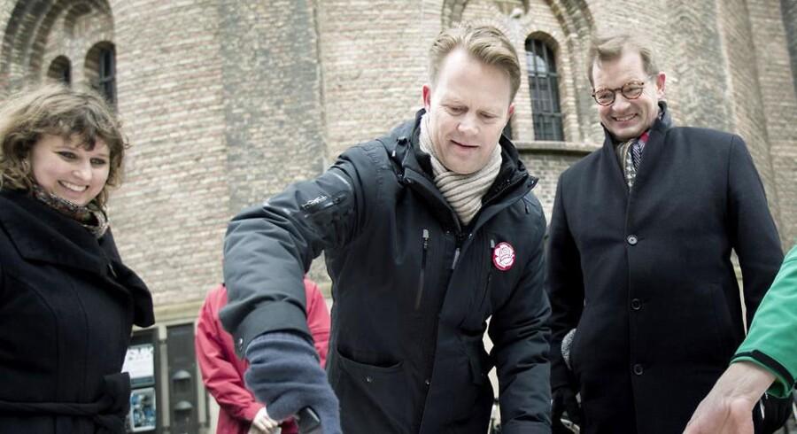 Arkivfoto. Socialdemokraternes spidskandidat ved valget til Europa-Parlamentet i maj.