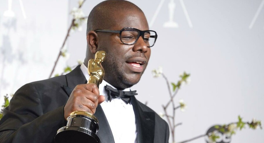 Filminstruktør Steve McQueens film »12 Years A Slave« vandt en Oscar for bedste film.