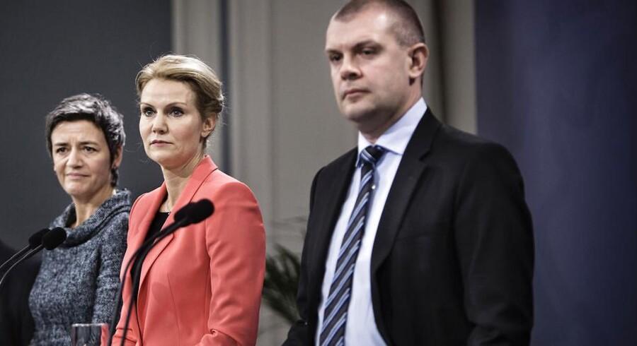 Statsminister Helle Thorning-Schmidt og finansminister Bjarne Corydon skal i samråd om den såkaldte solcellesag.
