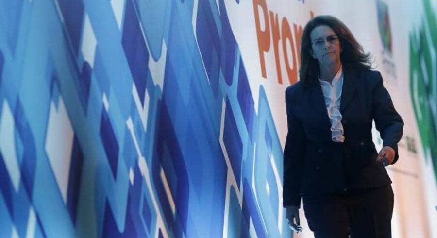 Maria das Gracas Silva Foster - eller Graça Foster - er topchef for Brasiliens magtfulde olie- og energigigant Petrobras