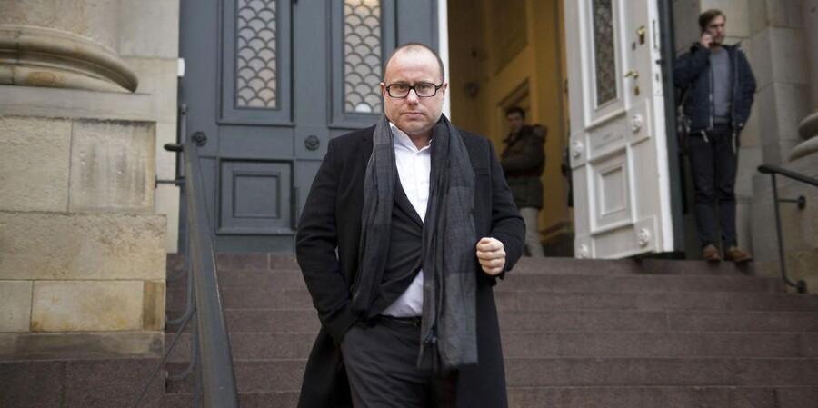 Niels Pinborg, chefredaktør på Se og Hør, fulgte torsdag slagsmålet i Højesteret.