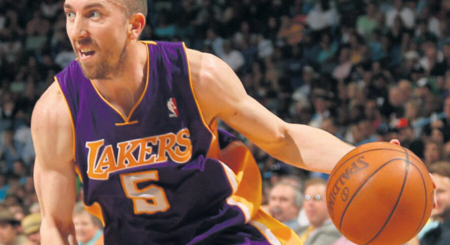 Steve Blake fra the Lakers. Foto: Chris Graythen/Getty Images/AFP