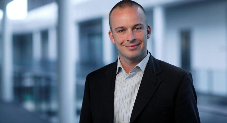 Lasse Møller Sørensen er ny chef for HPs PC-afdeling i Danmark. Foto: HP