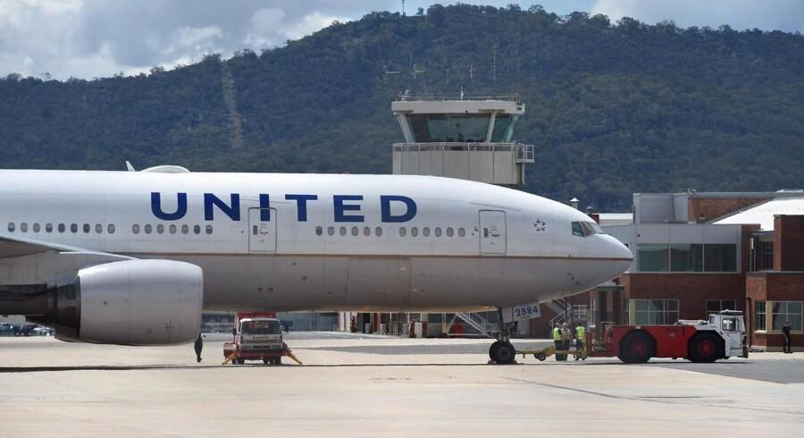 United Airlines fik solgt luksusbilletter alt for billigt.