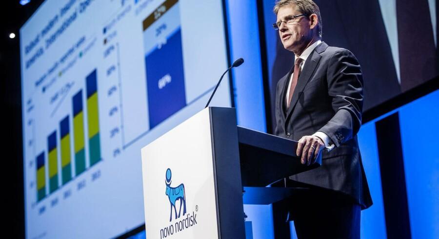 Administrerende direktør i Novo Nordisk, Lars Rebien.
