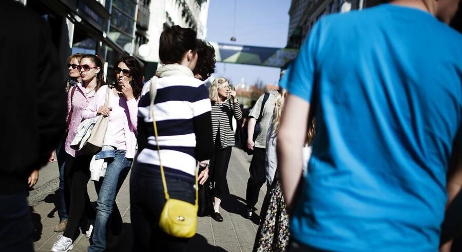 Antallet af lomme- og tasketyverier i København stiger eksplosivt, og politiet fortæller mandag til Berlingske, at det primært skyldes tilrejsende kriminelle fra især Østeuropa. (Modelfoto.)