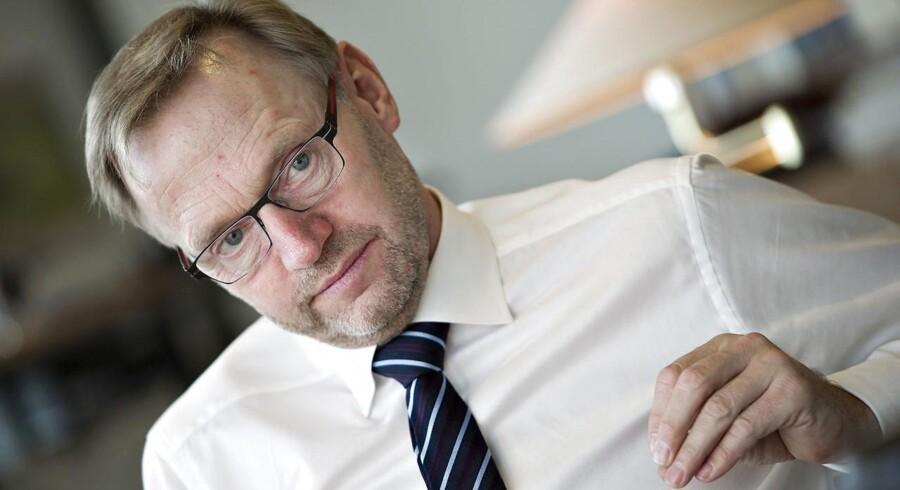 Anders Dam, direktør Jyske Bank, har indgået forlig med en kreds af kunder, som tabte penge på at sætte penge i en fond under Jyske Invest.