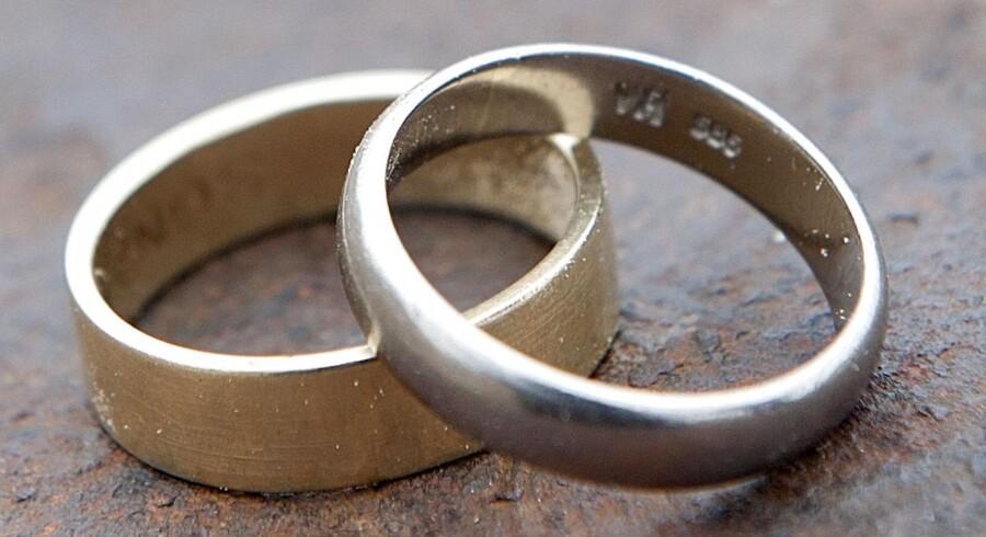 Søndag gifter en ungt par sig i Israel. Men der ventes en stor demonstration indkaldt af en højreorienteret jødisk gruppe i forbindelse med brylluppet mellem den jødiske kvinde og den muslimske mand.