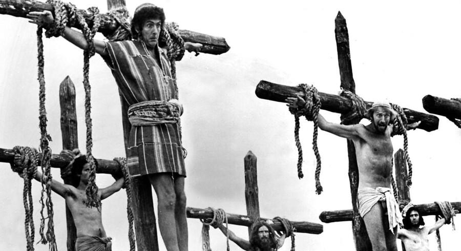 Monty Python er blandt andet kendt for filmen Life Of Brian fra 1979