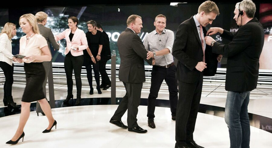 Der var mandag aften den første partilederrunde om EP-valget på TV. Det foregik på TV 2 i Odense.