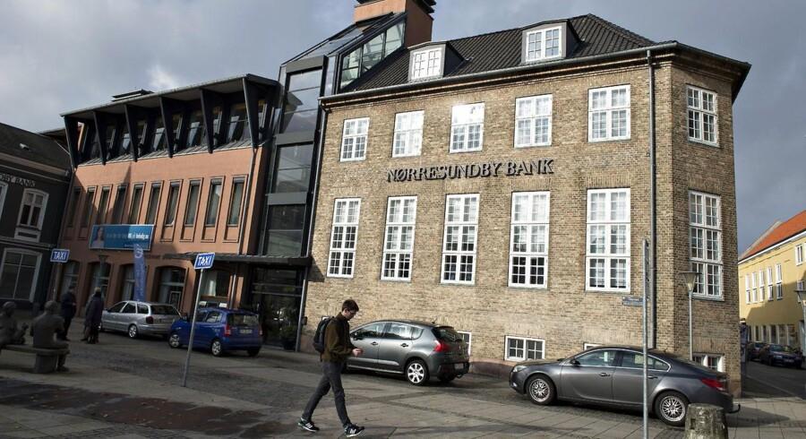ARKIVFOTO. Nørresundby Bank har fremgang over hele linjen, viser seneste regnskab.