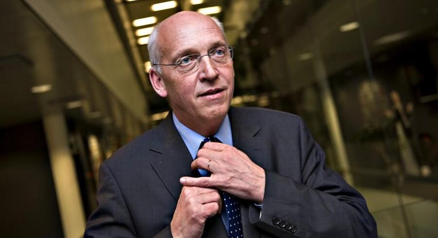 Telias koncernchef, Lars Nyberg, nedlægger nu 800 stillinger. Arkivfoto: Scanpix