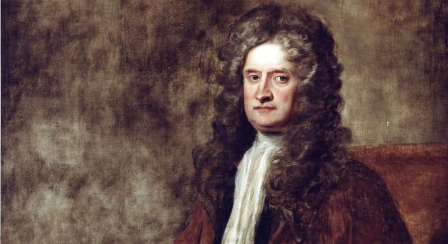 Denne herre, Sir Isaac Newton, har nu fået hjælp fra en måske noget uventet front. En 16-årig dreng har løst en af hans matematiske gåder.