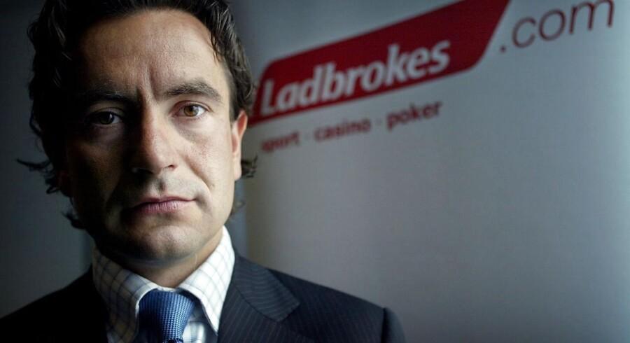 Douglas Roos, chef for Ladbrokes i Norden.