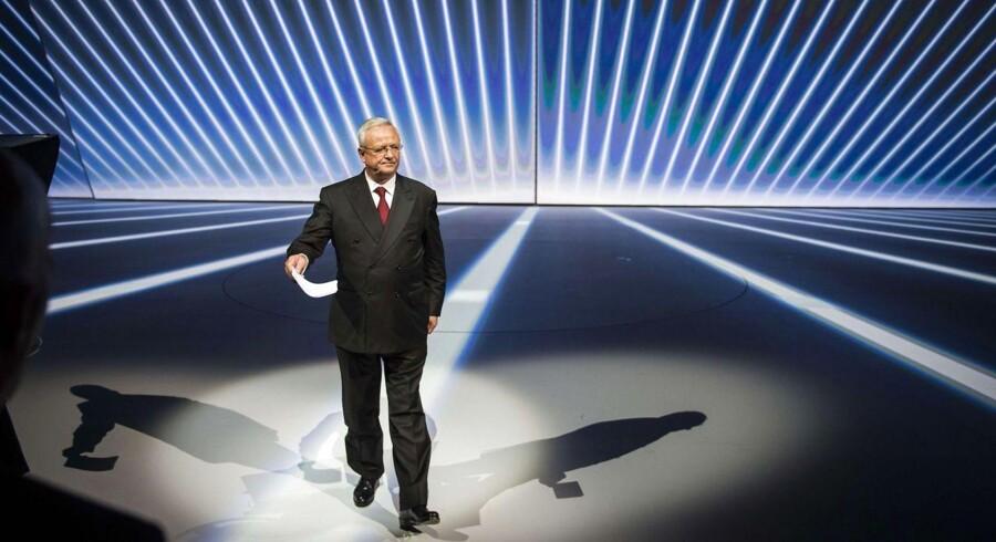 CEO i Volkswagen AG Martin Winterkorn