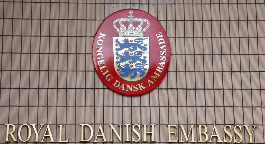 Regeringen vil lukke fem ambassader og skære ned på en række andre primært i Europa. Omvendt åbnes nye tre nye. Her den Danske Ambassade i Tokyo.