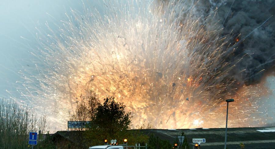 Billeder fra eksplosionerne i Sees tilbage i 2004 taget er Berlingske-fotograf Claus Fisker.