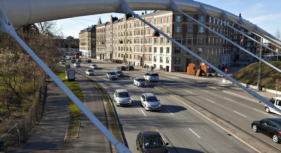 Trafiktrængslen i København har kommunen selv skabt, mener trafikforsker.