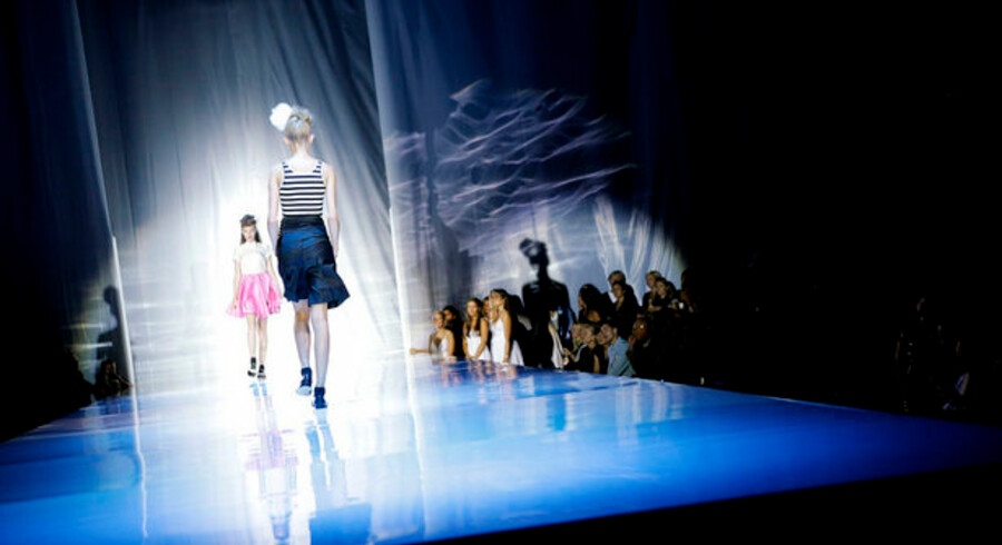 Et af de store modehuse, der har meldt afbud til modeugen, er Day. Her er det fra modehusets show under sidste modeuge i august sidste år.