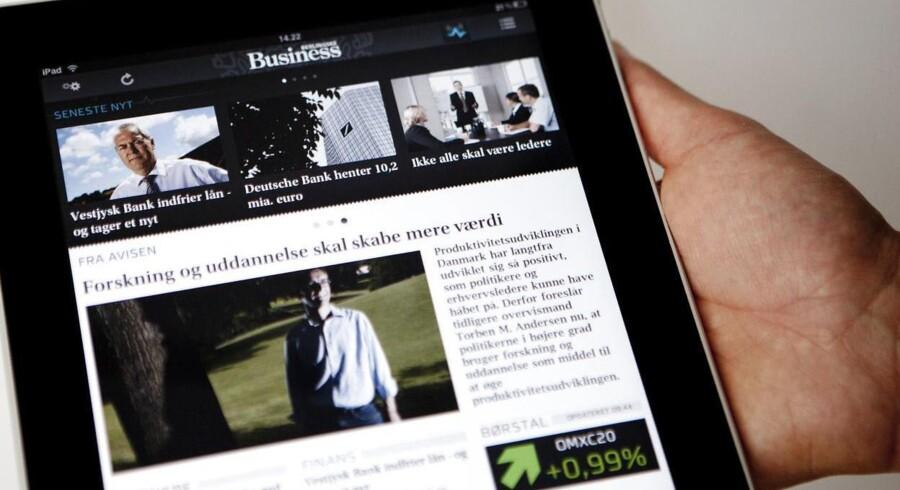 Den kommende opdatering af iPad har en større hukommelse og er målrettet erhvervsbrugere.