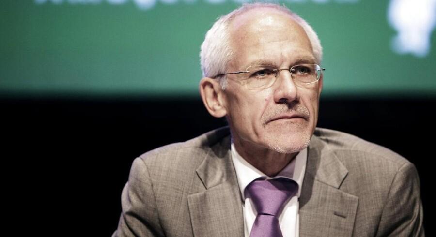 Den tidligere bestyrelsesformand i Amagerbanken, advokat N.E. Nielsen.