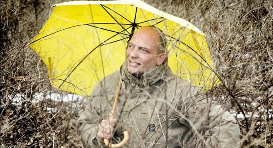 TV 2s vejrprofet Peter Tanev får nu de netbesøgende tilbage, som en tjekkisk pirat havde kapret. Foto: Jeppe Carlsen, Scanpix