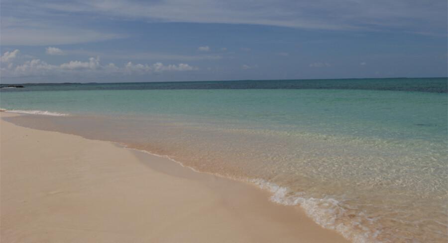 Turks and Caicos består af 40 øer, hvor kun otte af dem er beboet. Foto: PR