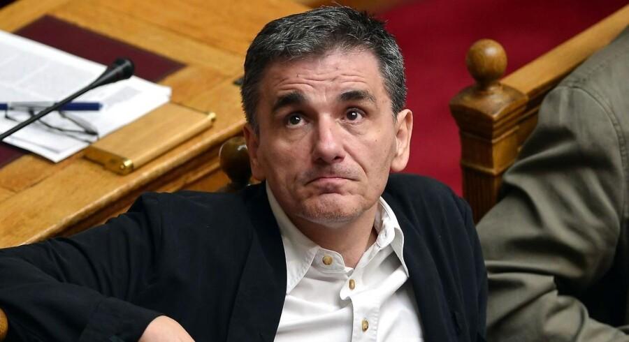 Grækenlands finansminister Euclid Tsakalotos.
