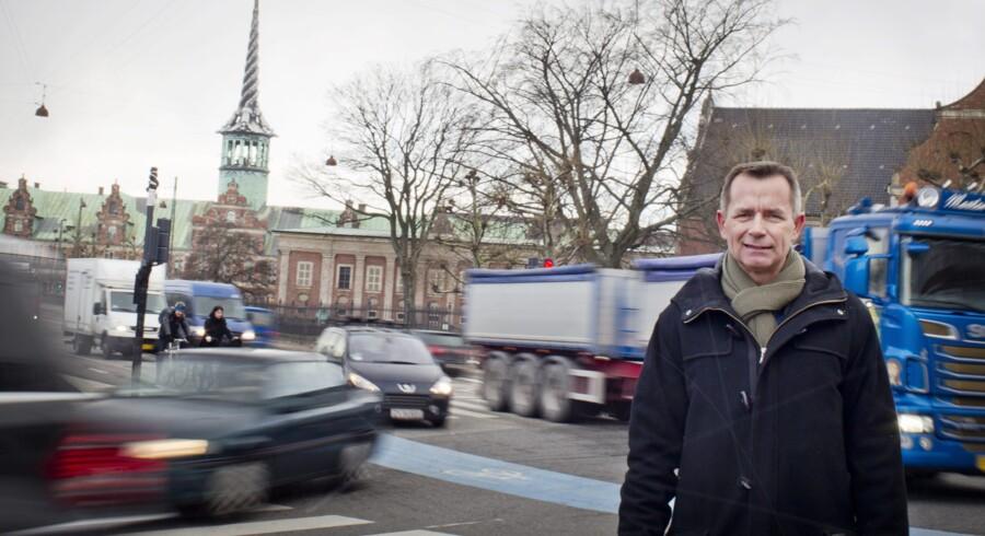 Stig Weilborg er medstifter af Freelizer, der udbyder GPS-sporing af biler og lastbiler, og satser på de små- og mellemstore virksomheder. Foto: Katrine Emilie Andersen
