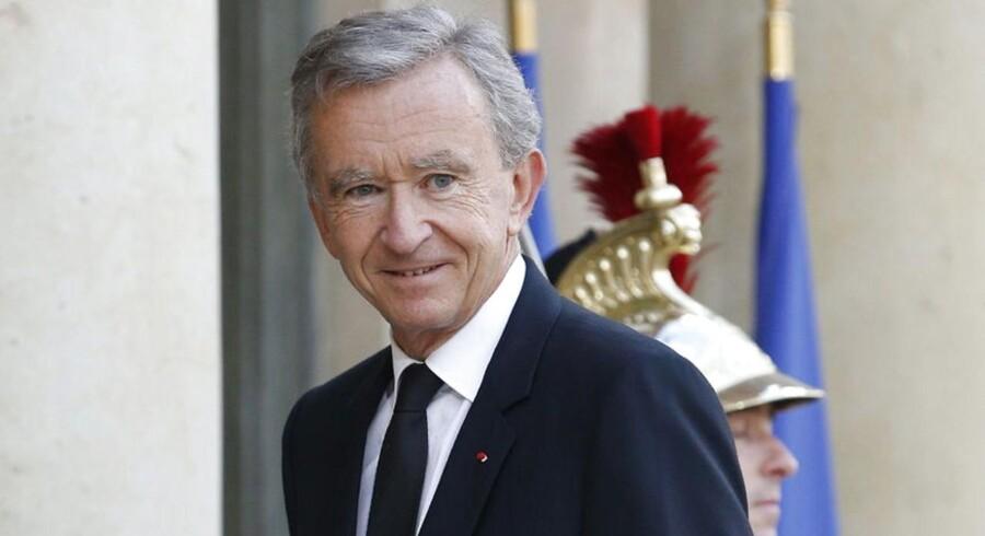 LVMH, som har Frankrigs rigeste mand, Bernard Arnault (billedet), ved roret, vil forære Hermes-aktierne til virksomhedens aktionærer og investorer.